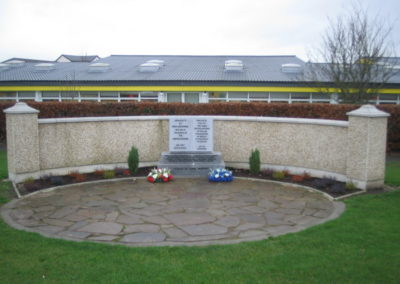 Early UN Monument before upgrading at Askea Church