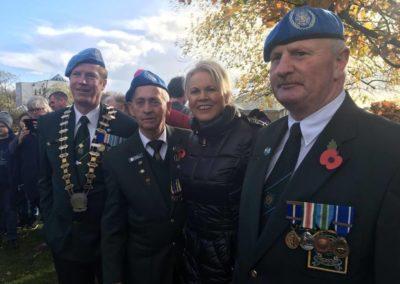 Remembrance Sunday 2018 Leighlingridge