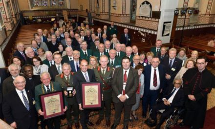 UN Peacekeepers honoured at Killarney ceremony