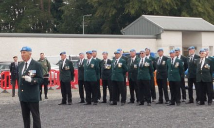 New IUNVA Badge Launched at IUNVA Veterans Day in Naas recently