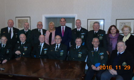 IUNVA Post 29 Carlow visit to Government Buildings 2016 – Remembered