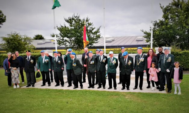 POST 29 CARLOW – ANNUAL WREATH LAYING CEREMONY 2021