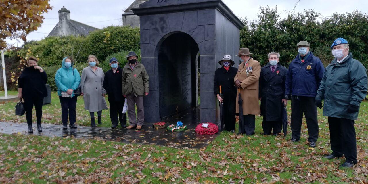 Remembrance Ceremony in Leighlinbridge