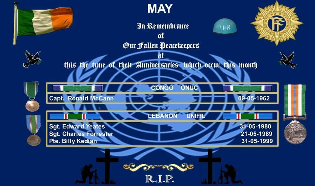 REMEMBER OUR PEACEKEEPERS